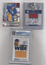 NICKLAS LIDSTROM AUTOGRAPH AND JERSEY CARD LOT