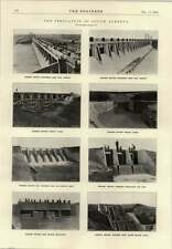 1914 The Irrigation Of South Alberta Horseshoe Bend Dam Bassano Winona