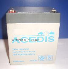 Batterie 12 Volt pour Onduleur TRUST 400 Watts UPS (13504)
