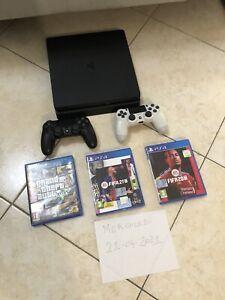 Console Sony Playstation 4 Slim 500 GB Completa Perfetta