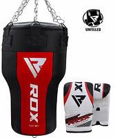 RDX Boxing Heavy Duty MMA Punch Bag Face Dummy Grappling Punching Training Pad U