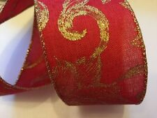 Double-Sided Unbranded Wire-Edged Craft Ribbons