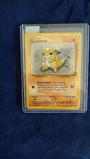 Pokemon Card   SANDSHREW 40HP.