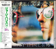 George Harrison Thirty-Three & 1/3 1991 Japan CD 1st Press With Obi WPCP-4381 33