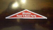 NASCAR WINSTON RACE N ROCK PARTY PATCH