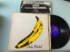 LP USA 1967 TORSO COVER The Velvet Underground & Nico Label: Verve V6-5008