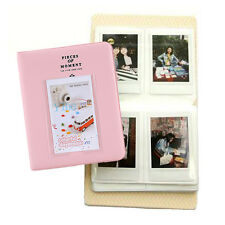 Pink 64 Pockets Album Photo Case For Fuji Instax Mini8 7s 25 50s 90 Polaroid