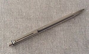 Vintage Sheaffer ballpoint pen - sterling silver - classic deco styling
