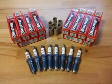 8x Ford F-Series F-150 6.2i V8 y2010-2014 = Brisk YS Silver Upgrade Spark Plugs