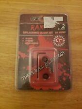 "Dead Ringer Rampage Replacement Blade Set; For 1.5"", 100gr, 2 Blade; Dr4736"