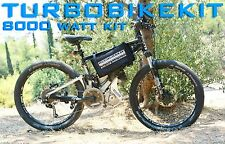 7500w-8000watt Electric Ebike Kit 48v-72v Speed 125km/h 12Ah 72v Lifepo4 Battery
