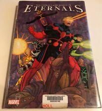 Marvel Comics Eternals Neil Gaiman John Romita Jr Hardcover Graphic Novel