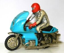 BRITAINS NO. 9696 RIDER IN LEATHERS ON BMW R100 MOTORCYCLE N/MINT