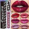 Make-up Lippenstift wasserdicht langlebig Metallic Liquid Lipgloss Glitter