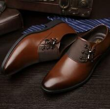 New Fashion Men's Faux Leather Oxford Formal Dress/Casual Shoes black brown