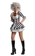 Rubie's Official Beetle Juice Wig Ladies Fancy Dress Halloween