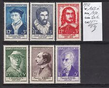 FRANCE 1956 CELEBRITES N°1066 à 1071-N**TB-COTE:50 EUROS-VOIR SCAN-M338