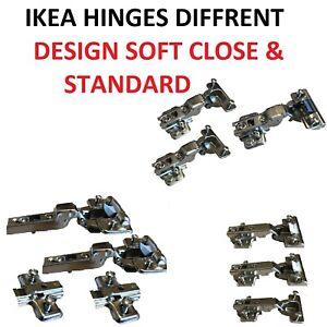 IKEA HINGES SOFT CLOSE STANDARD CABINET KITCHEN DIFFRENT DESIGN