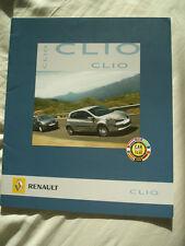 Renault Clio range brochure Dec 2005