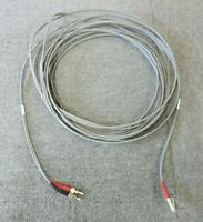 Job Lot 2 x 10 Meter LC To ST Duplex Grey Multimode Fibre Optic Patch Cable