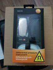 testo Differenzdruck-Messgerät 510 Differenzdruckmessung mit Silikonschlauch!