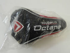 NEW IN PLASTIC CALLAWAY DIABLO OCTANE DRIVER HEAD COVER