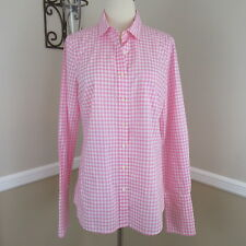 J Crew L/E Thomas Mason for J.Crew Perfect Button Down Shirt in Pink Gingham 8