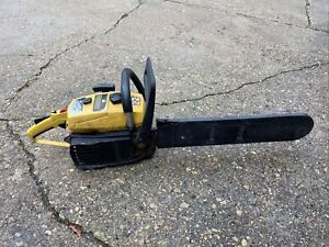 """MCCULLOCH PRO MAC 700 CHAINSAW 16"""" BAR Has Date Marking From Previous Owner"""