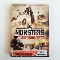 prix explosé ! _ MONSTERS DARK CONTINENT ♦ DVD NEUF ♦ réalisateur de GODZILLA