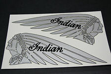 NOS NEW old repro USA made INDIAN TANK DECALS 1930's  CHIEF, FOUR, SCOUT