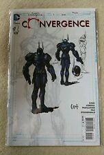 Convergence #1 1:100 Greg Capullo Batman Variant - 2015-DC Comics-inglés