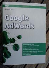 Google Adwords Buch von Alexander Beck