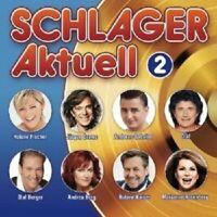SCHLAGER AKTUELL 2 2 CD MIT ANDREA BERG UVM. NEU