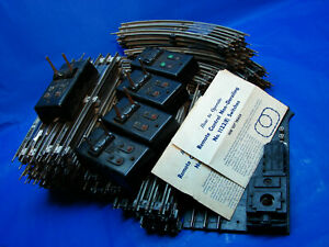1951-52 Attic Find Postwar Lionel Gray Rail 027 Track & More, G+