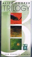 ALICE COOPER TRILOGY KILLER, SCHOOL'S, BILLION DOLLAR BABIES BOX 3 CD F.C. SIGIL
