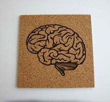 Brain Etched Cork Board Push Pin Bulletin Board Doctor Gift