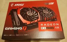 MSI Radeon Twin Frozr VI RX470 8GB DDR5 graphics card GPU - never OCed Orig Box