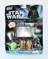 VINTAGE STAR WARS *** TOPPS CANDY STAR WARS FIGURE CONTAINERS - 1997
