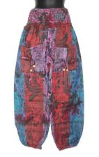 *Fair Trade* Hippy Boho Indian Made Floral & Paisley Acrylic Wool Trousers TR42