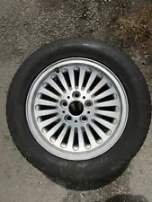 BMW 5 series E39 95-03 turbine style 33 alloy wheel + Dunlop SP tyre 225 55 16