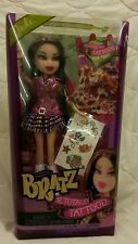 NIB 2012 BRATZ Doll TOTALLY TATTOO'D JADE Rare-Hard to find
