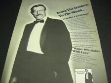 ROGER WHITTAKER ...is but a small voice WITH LOVE original 1980 PROMO POSTER AD