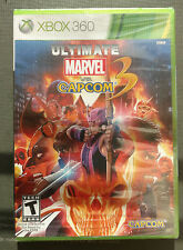 [Rare | Factory Sealed] Ultimate Marvel vs. Capcom 3 for Microsoft Xbox 360