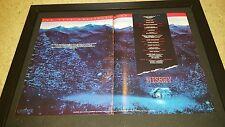 Misery Rare Original Academy Awards Consideration Promo Poster Ad Framed!