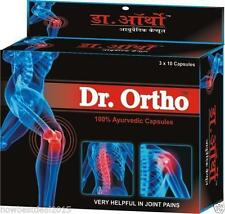 3X Dr. Ortho Ayurvedic Pain Relieving Capsules  Helpful in Joint Pain 30 capsule