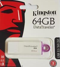 PENDRIVE USB KINGSTON CHIAVETTA 64GB MEMORIA DTI G4 FLASH DRIVE 2.0 3.0 3.1