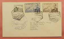 New ListingDr Who 1950 Spain First Flight Barcelona To England 128981