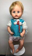 8.5� Vintage American Character Tiny Tiny Tears 1960's Vinyl Baby Doll #S
