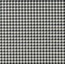 Klebefolie - Möbelfolie Hahnentritt Muster - Selbstklebefolie 45 cm x 200 cm
