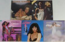 5x Vinyl LP Bundle Sammlung Donna Summer - The Wanderer / Bad Girls / ...